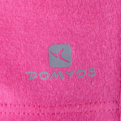 T-Shirt manches courtes Gym fille rose