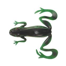 Kunstaas voor forelbaars kikker groen/geel x3