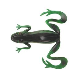 Gummiköder Kicker Frog grün/gelb 3 Stk.