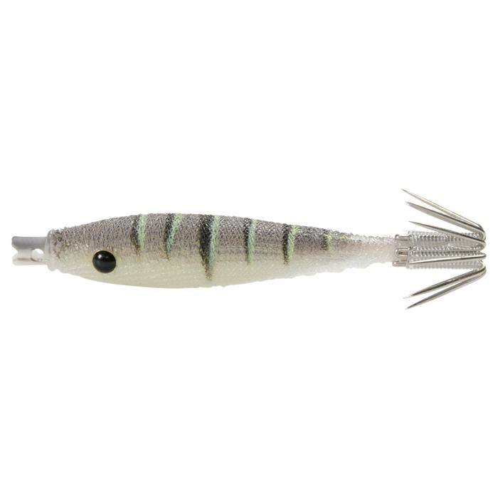 Leurre pêche céphalopodes EBIKA SOFT 50 / 1.8 NATUREL