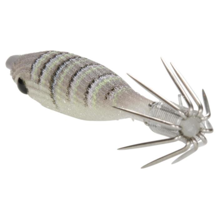 Kunstköder Ebika Soft 50mm/1,8g Tintenfischköder naturfarben