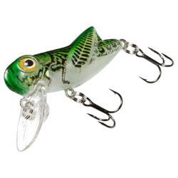 Pez nadador flotante pesca Gropper 40 verde