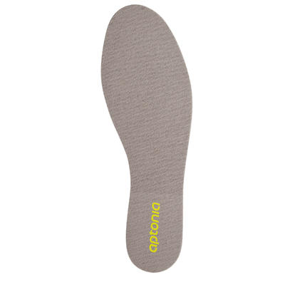 רפידות נעליים 100 לנוחות - אפור