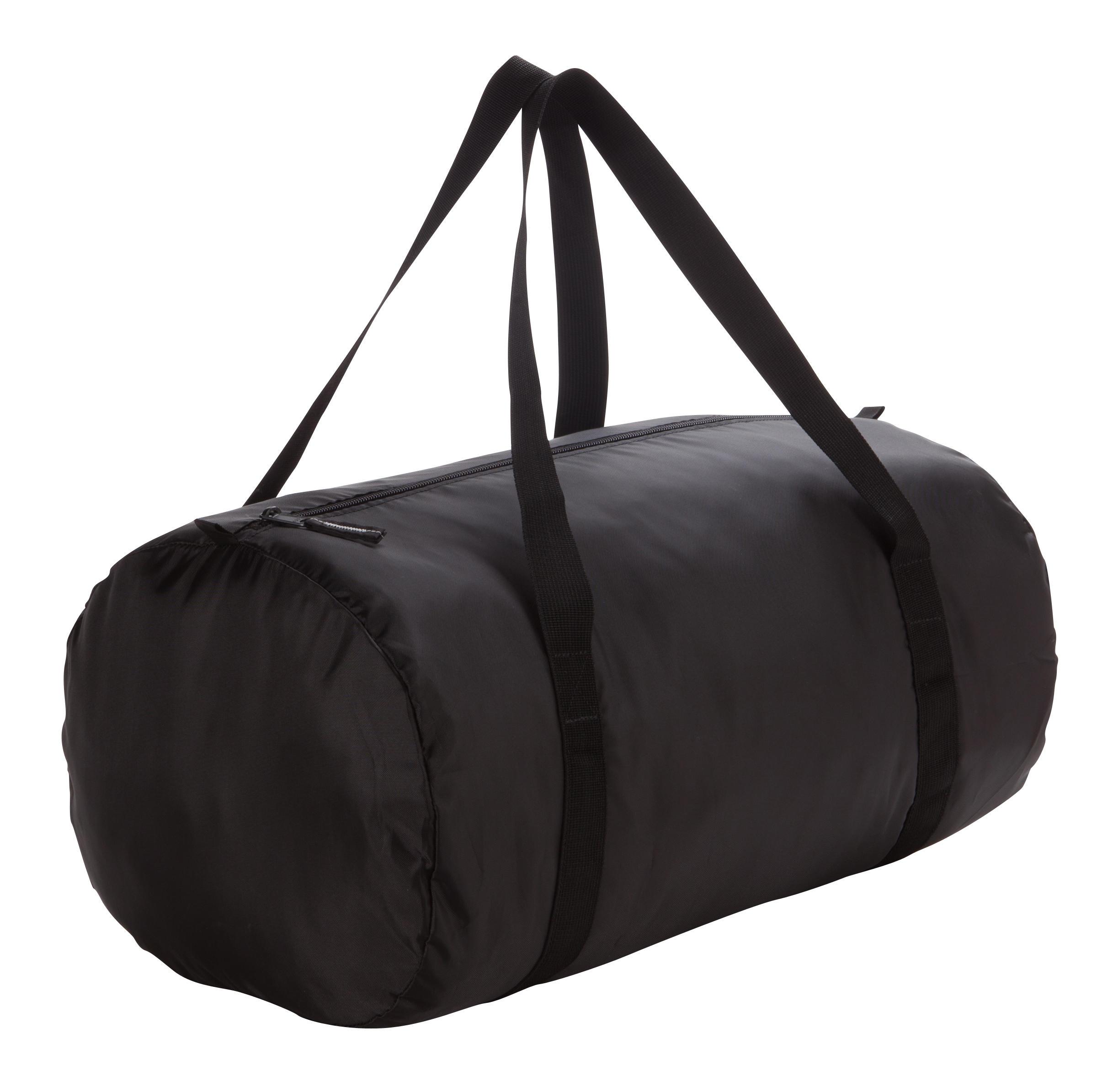 Bolsa tipo tubo plegable fitness negro