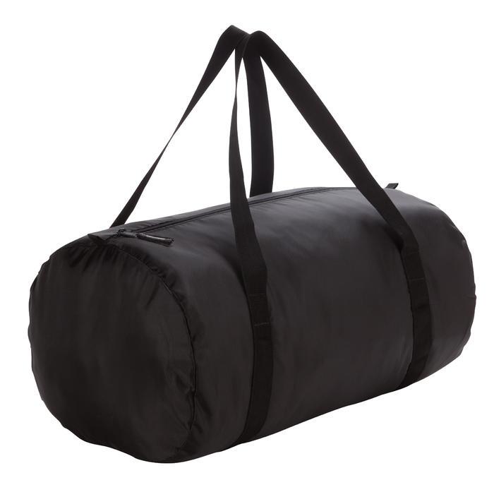 Túi hình trống tập Fitness gập được cỡ vừa – Đen