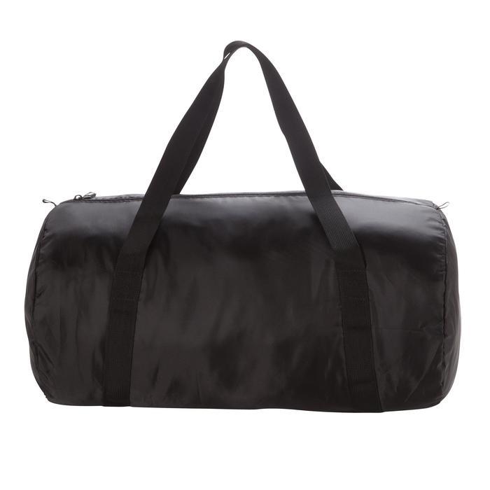 Bolsa de deportes gimnasio Cardio Fitness Domyos 30 litros Pocket plegable negro