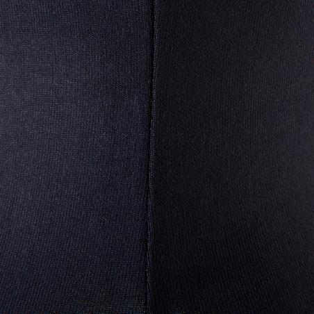Adult Fine-Strap Dance Leotard - Black