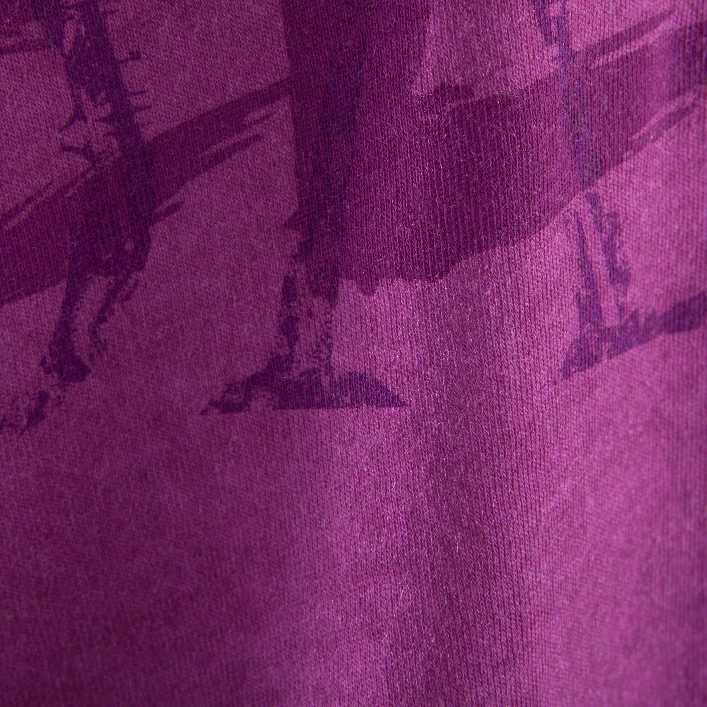 Girls' Short Dance T-Shirt - Plum