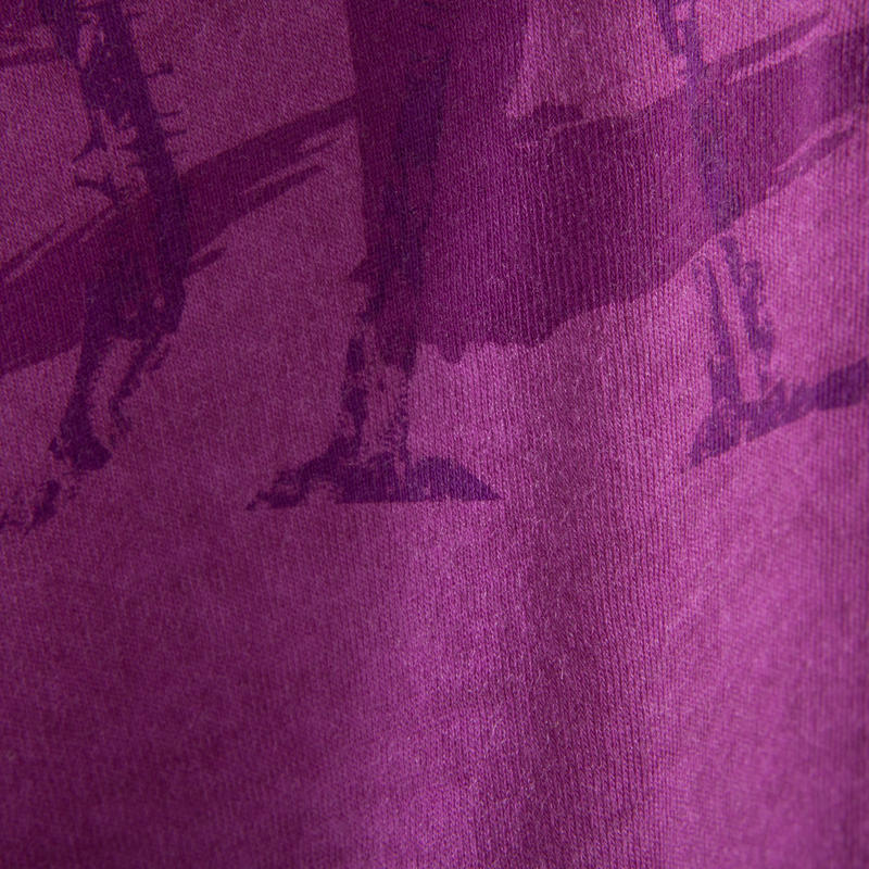 Girls' Short Dance T-Shirt - Plum