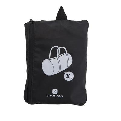 Складна фітнес-сумка, 30 л - Чорна