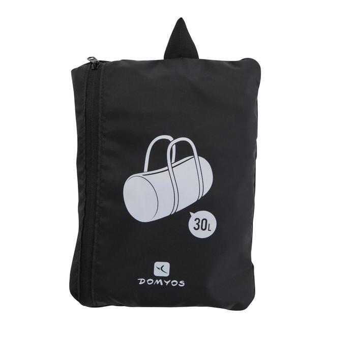 Opvouwbare tas fitness cardiotraining 30 l zwart