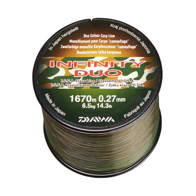 DUO CAMO 27/100 INFINITY LINE Carp fishing line