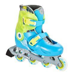 Play 5 Kids' Inline Skates - Blue/Green