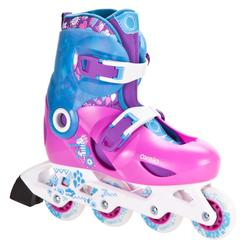 Play 5 Kids' Inline Skates - Pink/Purple/Blue