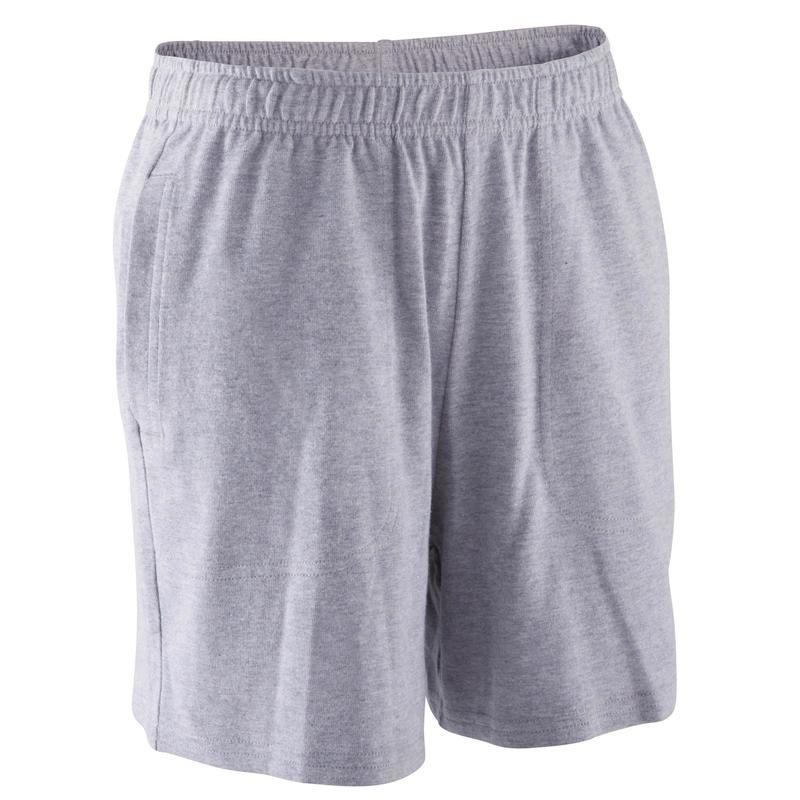 de7610290 Ropa infantil - Short de gimnasia niño gris