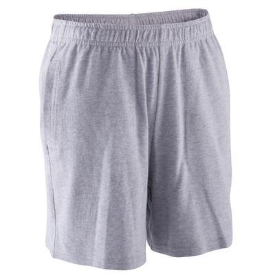 3be180ef00 Short Gym garçon gris