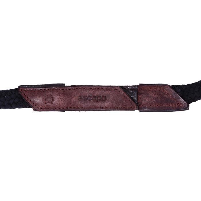 Bridon licol + rênes équitation randonnée ESCAPE marron - taille cheval - 39716