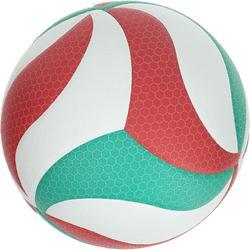 Volleybal Molten 5000 groen rood