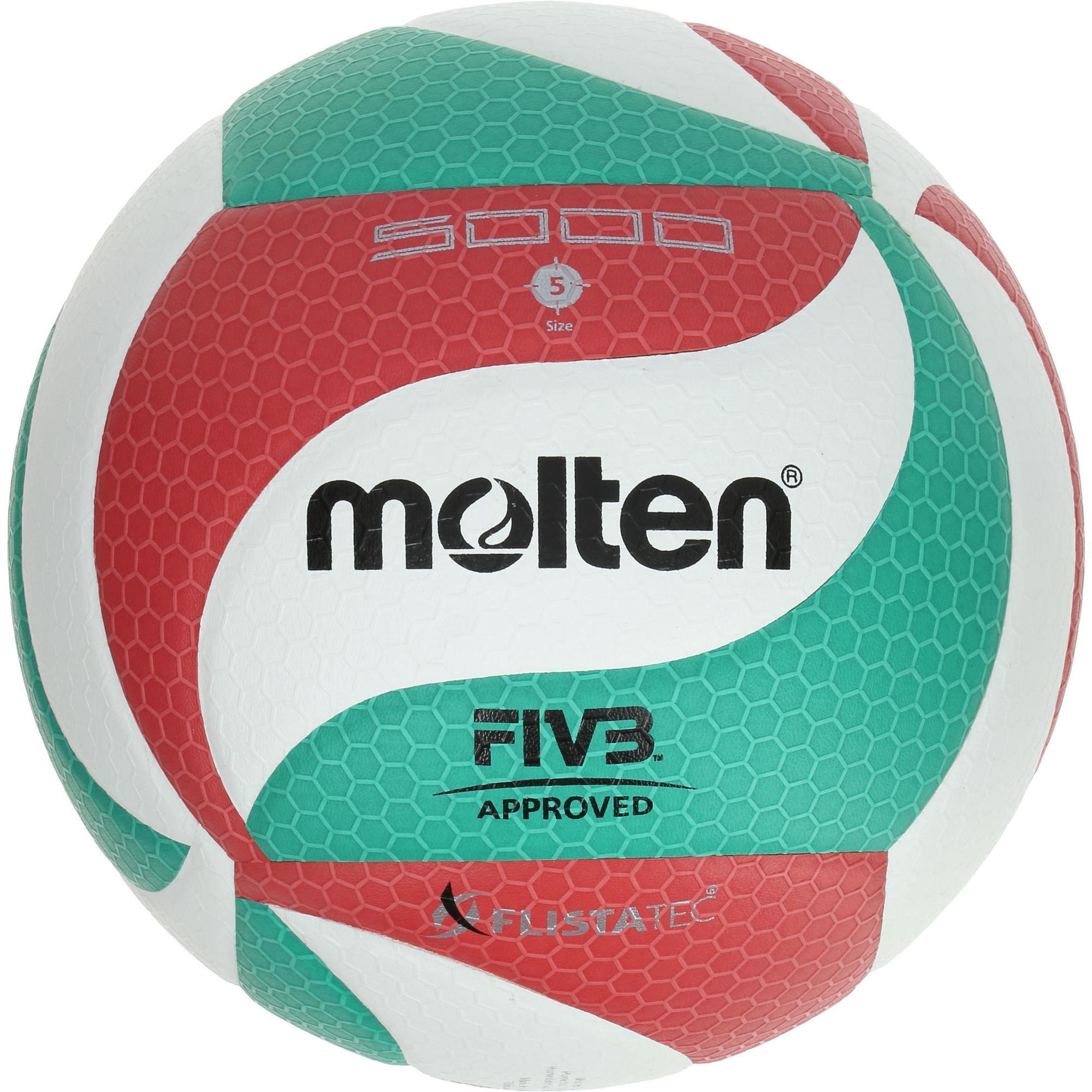 Molten Volleybal Molten 5000 groen rood kopen