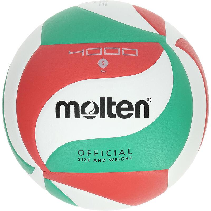 Balón Voleibol Molten 4000 Verde Rojo