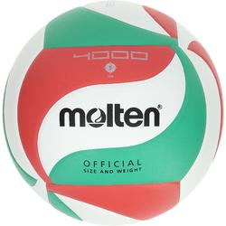 Ballon de volley-ball Molten 4000 vert rouge