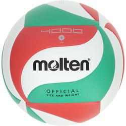 Ballon de volley-ball Molten 4000 vert rouge
