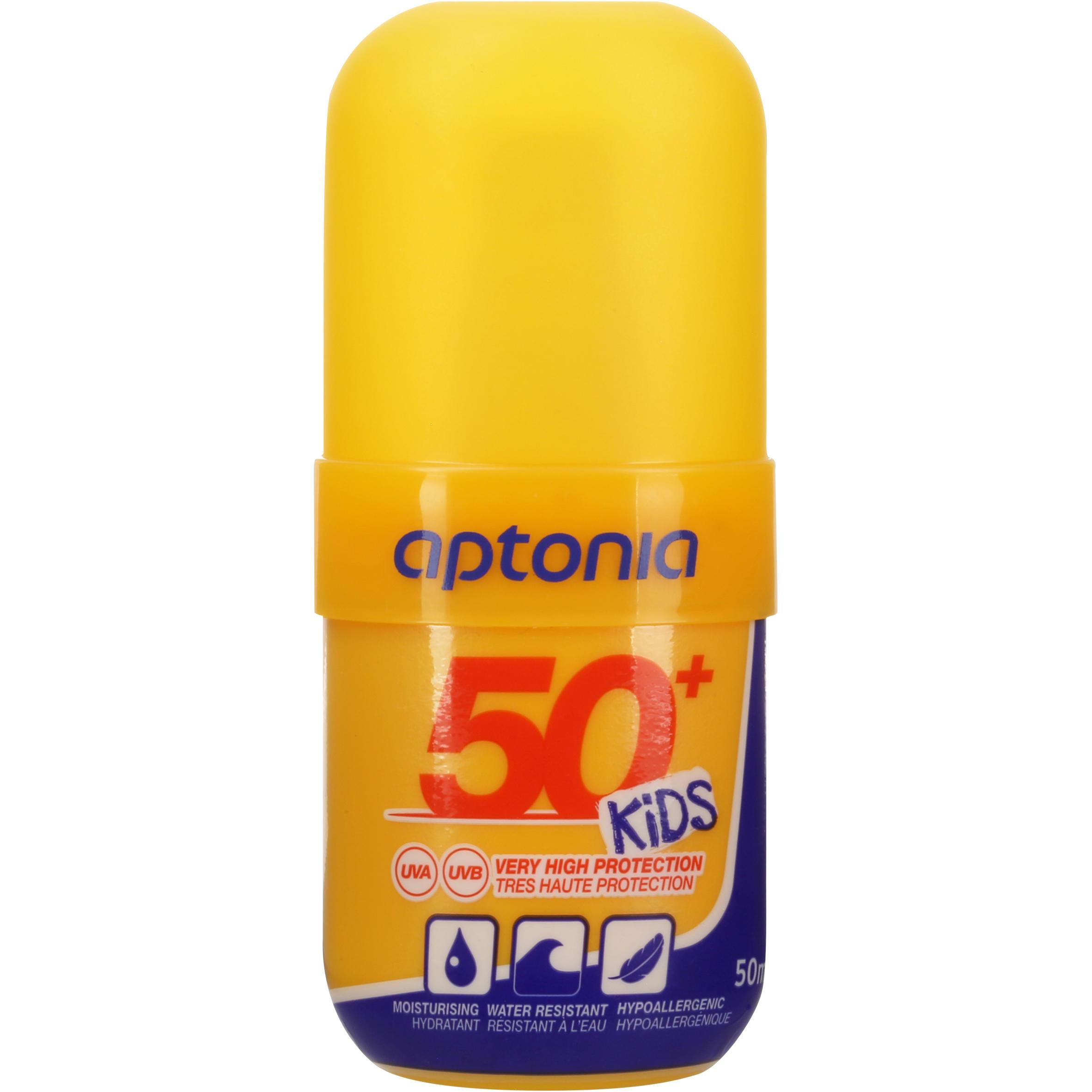 Aptonia Zonnespray factor 50+ pocketformaat 50 ml thumbnail