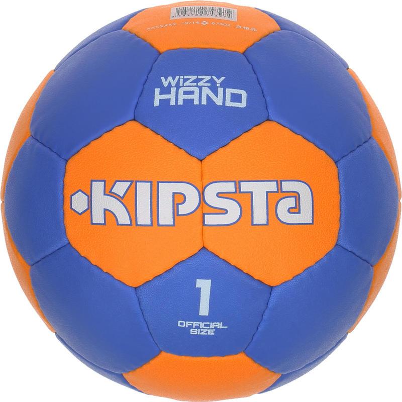 Wizzy Hand Kids Size 1 Handball - Dark Blue Orange
