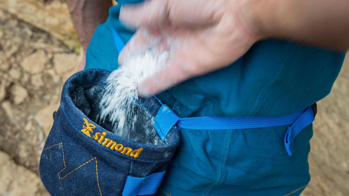 Warum Kletterer Kalk nutzen?