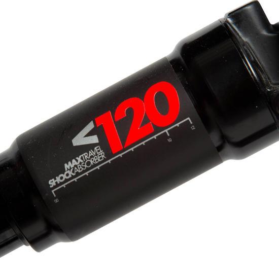 VTT SUSPENDU ROCKRIDER 520 NOIR/ORANGE