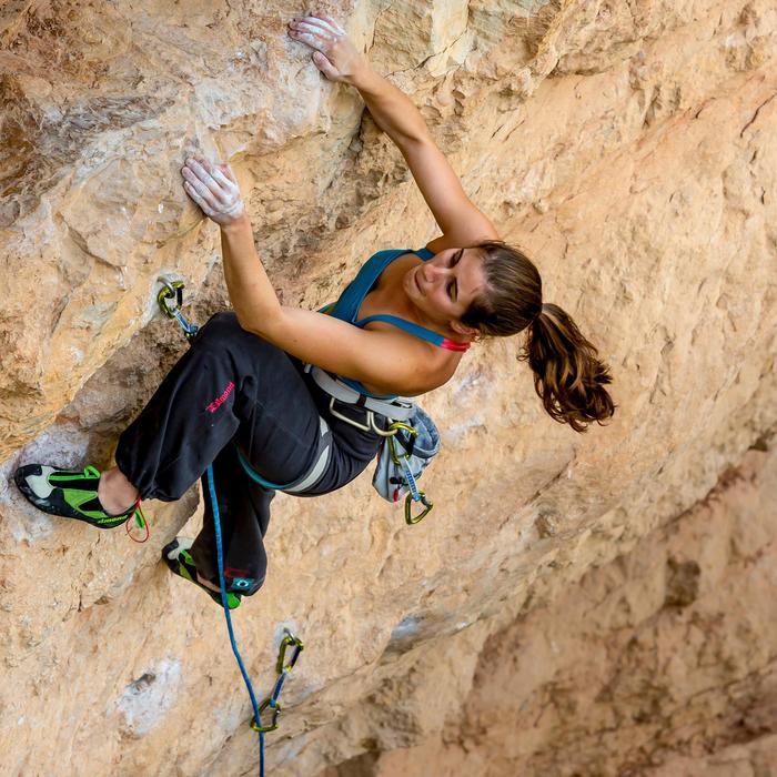 Magnesiumzak voor klimmen maat L vaalgrijs