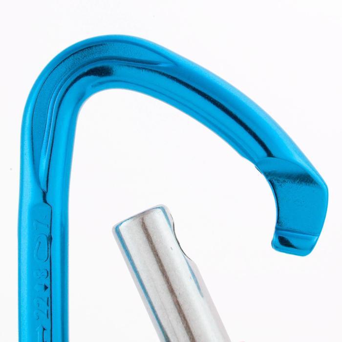 攀岩鉤環-藍色