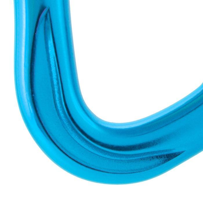 Karabiner Rocky blau