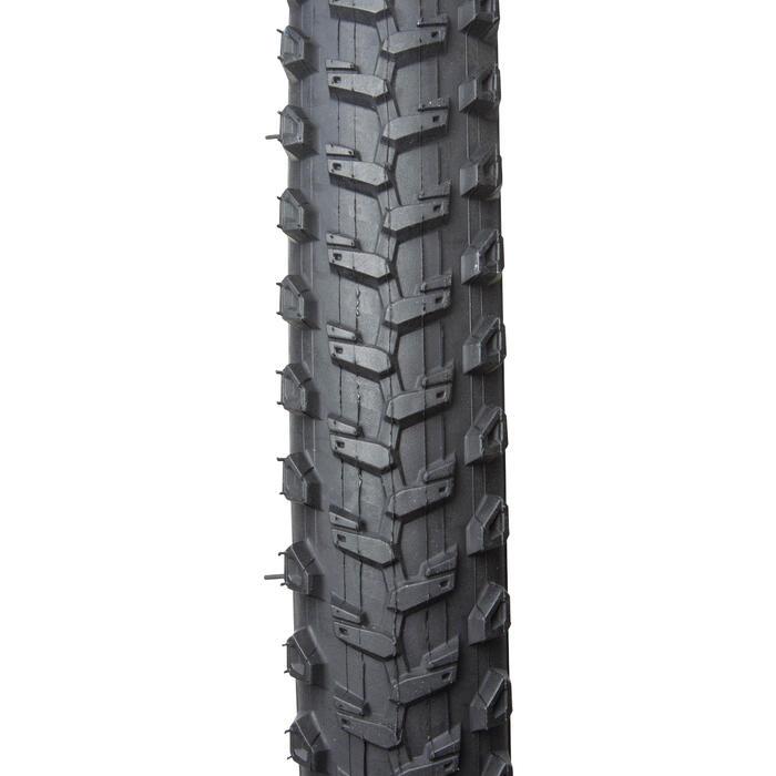Buitenband mountainbike kind 20x1.95 stijve hieldraden ETRTO 47-406