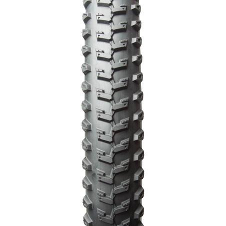 Pneu de vélo de montagne All Terrain 5 Speed 26x2 à tringles rigides