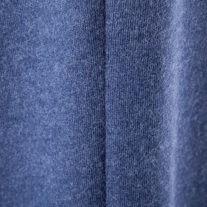 Essential Fitness Bottoms - Dark Mottled Blue
