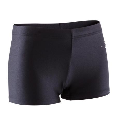 Girls' Sequin Gym Shorty - Black