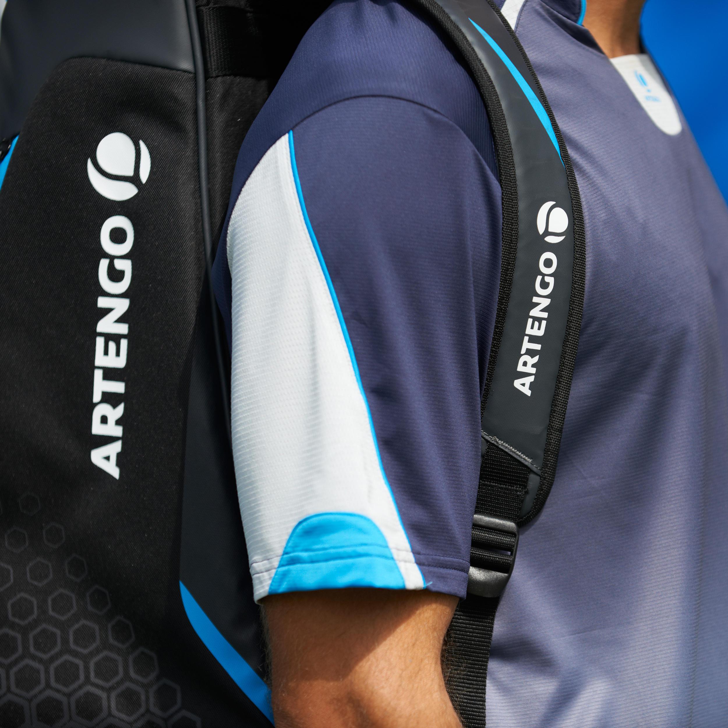 Tennistas TL860 blauw voor 6 rackets