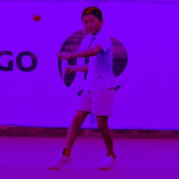 BALLE DE TENNIS TB110 ORANGE