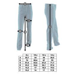 Skate jeans Fit voor kinderen - 400697