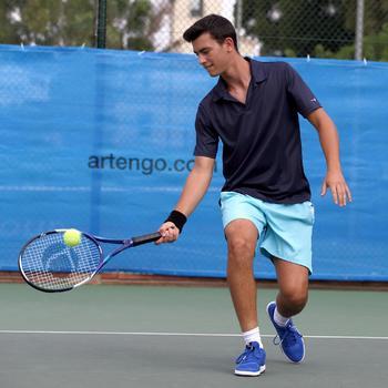 Herenpolo tennis Dry 100 - 400703