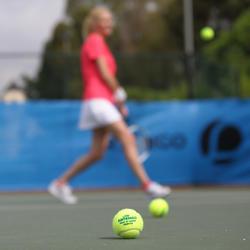 Tennisbal groene stip TB720 - 400718