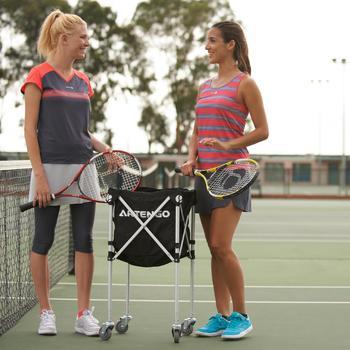 Ballkorb mit Rollen für Tennisbälle