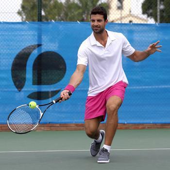 Herenshort Essentiel marineblauw 100 tennis/badminton/tafeltennis/padel/squash - 400756