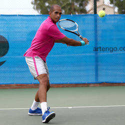 Artengo herenpolo 730 tennis badminton padel tafeltennis squash - 400789