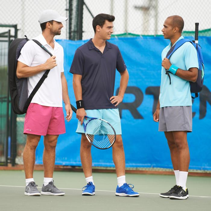 Tennis-Poloshirt Dry 100 Herren weiß