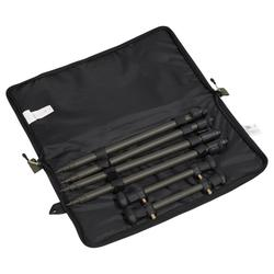 KIT Support de cannes pêche de la carpe STICKS + BUZZBARS 2
