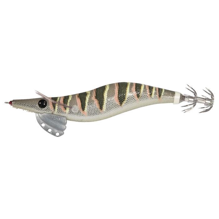 Anzuelos múltiples para pesca de cefalópodos EBIKA 3.0 NATURAL