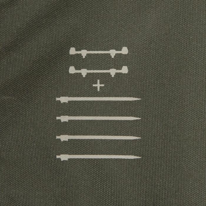 Rutenständerset Karpfenangeln Sticks + Buzzer Bars