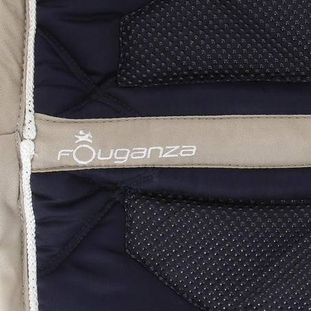 Grippy Horse Riding Saddle Cloth for Horse - Navy Blue